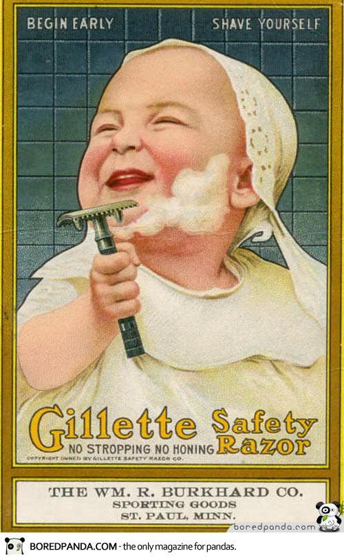 Vintage-Ads-Gillette - Cópia